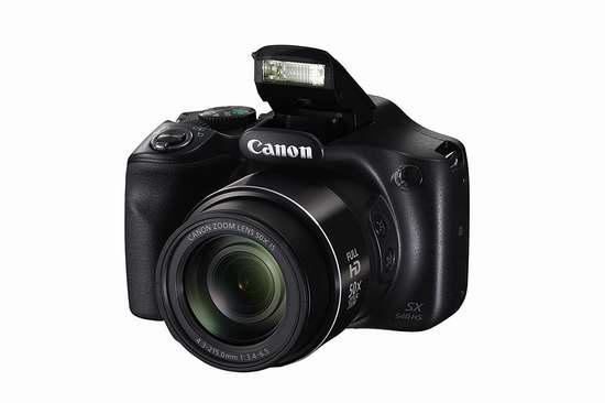 历史最低价!Canon 佳能 PowerShot SX540 IS 50倍变焦WiFi数码相机 299.97加元包邮!
