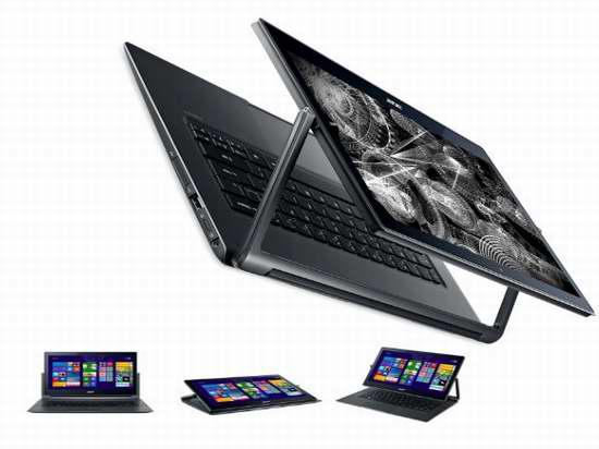 历史新低!Acer 宏碁 Aspire R13 Convertible 13.3英寸可翻转触控笔记本电脑(8 GB/128GB SSD)5.8折 581.02加元限时特卖并包邮!