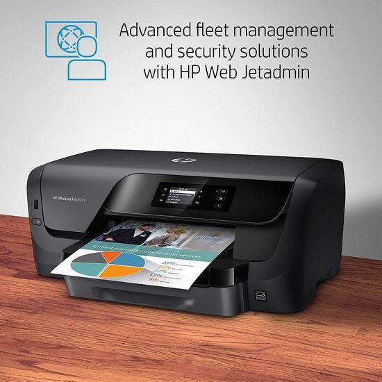 历史新低!HP OfficeJet Pro 8210 专业彩色喷墨打印机2.9折 49.97加元包邮!