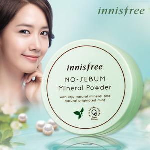 Innisfree 韩国悦诗风吟薄荷控油矿物散粉 11加元,原价 17加元
