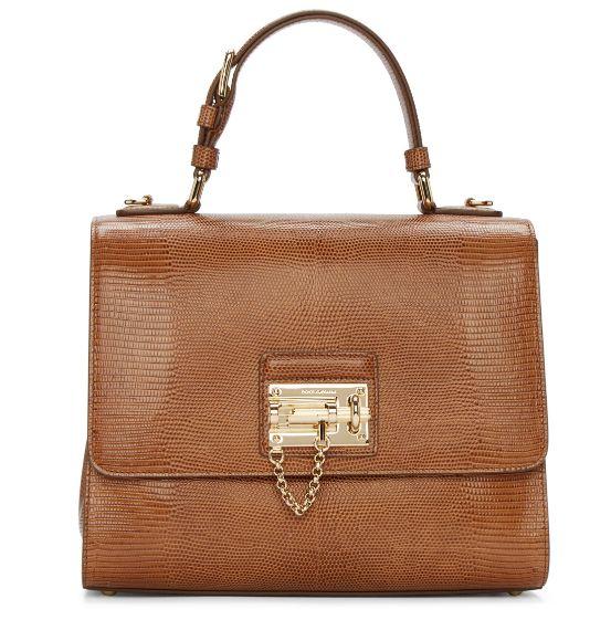 莫妮卡同款!Dolce & Gabbana Monica 棕褐色手提包 1468加元,原价 2995加元,包邮