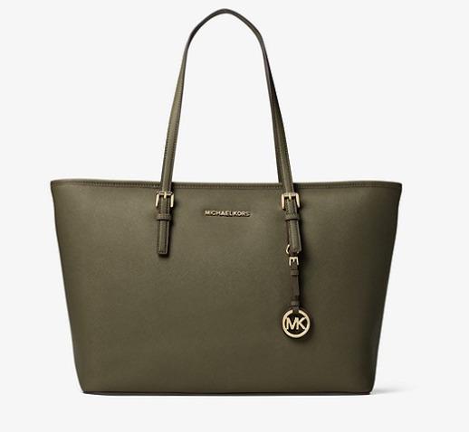 Michael Kors Jet Set 女士时尚手提包 149.25加元,原价 328加元,包邮
