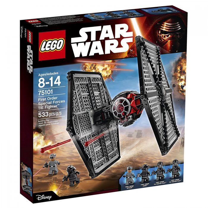 历史最低价!LEGO 乐高 75101 星球大战系列 钛战机 50.41加元,lego官网同款 89.99加元,包邮