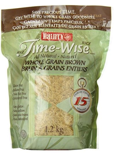Dainty Time Wise 全麦糙米 1.99加元(1.2kg),原价 4.29加元