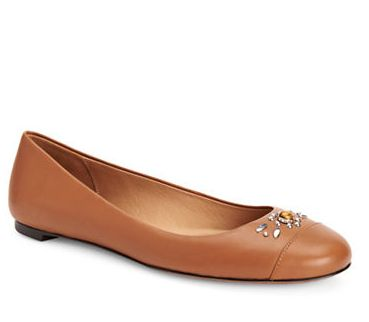 COACH Farrell芭蕾舞鞋 115加元,原价 230加元,包邮