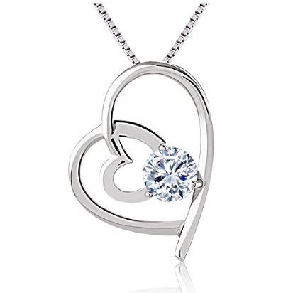 J.Rosée 双心项链 14.01加元限量特卖,原价 69.99加元