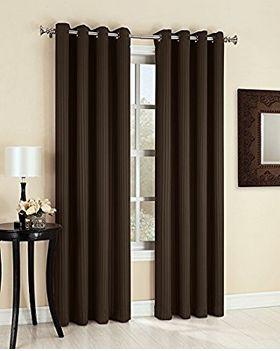 Easy Care Fabrics 455694 遮光窗帘17.99加元(54x 84英寸),原价 22.99加元!