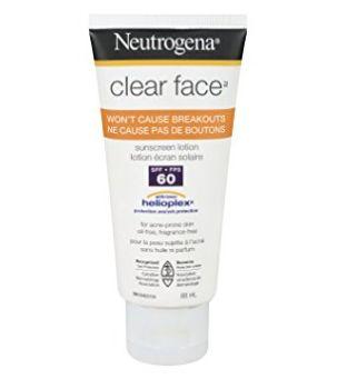 Neutrogena 露得清 清爽无油防晒霜 8.98加元(SPF60),原价 12.99加元