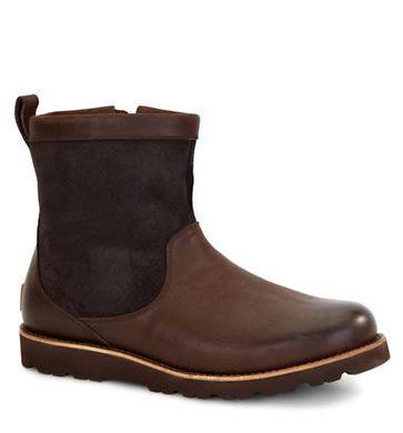 UGG Hendren 男士防水靴 81加元(2色),原价 270加元