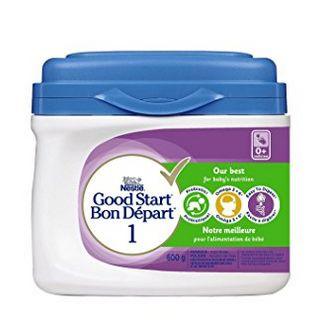 Nestle 雀巢 Good Start 1/2含DHA&ARA益生菌配方奶粉 24.67加元(600g、两款),原价 29.99加元