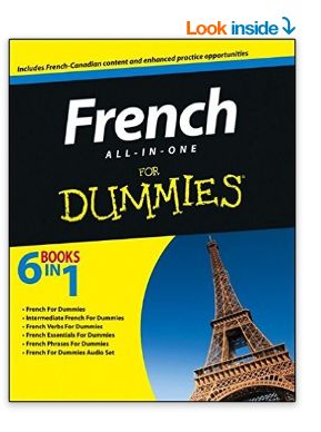 French All-in-One For Dummies 法语入门傻瓜书+CD套装 34.58加元,原价 41.99加元