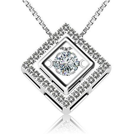 J.Rosée 时尚几何方钻银 8.66加元清仓特卖,原价 39.99加元