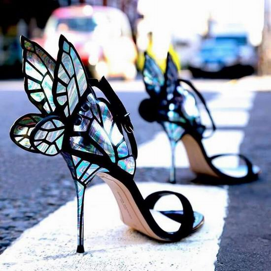 散发独特魅力!Sophia Webster 蝴蝶鞋 4折起限时特卖并包邮!