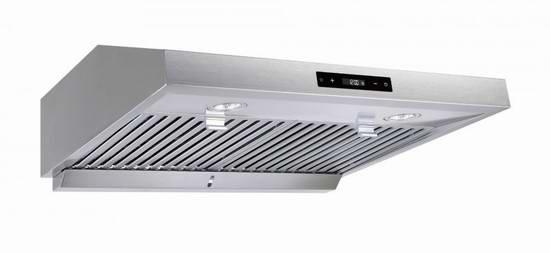 独家升级!Vesta 860CFM 6速超强吸力超静音 不锈钢欧式抽油烟机5.1折 304.98加元包邮!