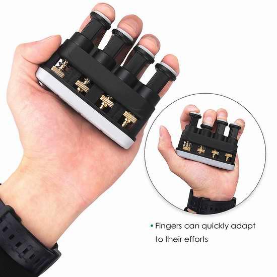 Mugig 握力器/指力训练器3.6折 9.99加元限量特卖!