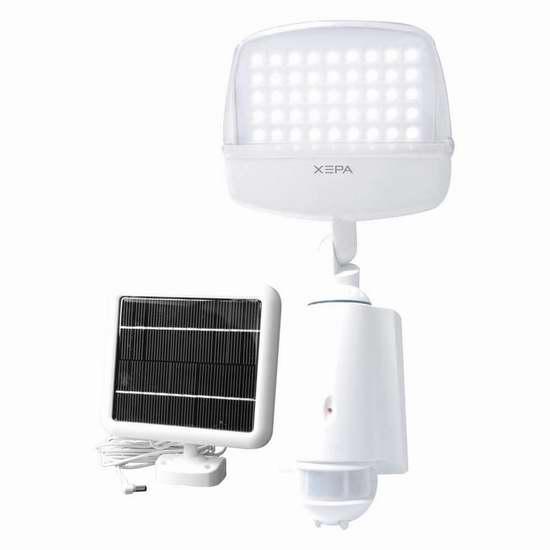 历史新低!XEPA XP645D 45 LED 超亮太阳能防水运动感应灯3.9折 36.27加元限时特卖并包邮!