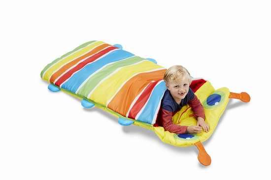 历史新低! Melissa & Doug Sunny Patch 毛毛虫儿童睡袋5折 22.5加元限时特卖!
