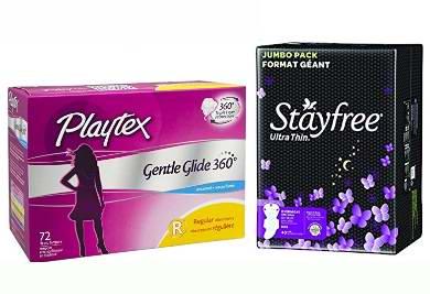 精选46款 Playtex、Stayfree、Always 等品牌卫生巾、洗液等女性护理产品特价销售,额外再打8折!