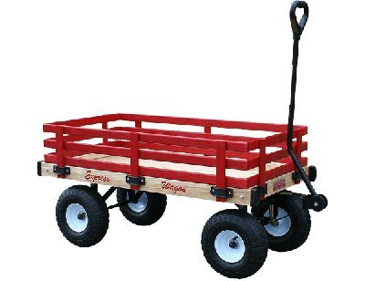 历史新低!Millside Industries 实木儿童拖车5.4折 121.13加元限时特卖并包邮!