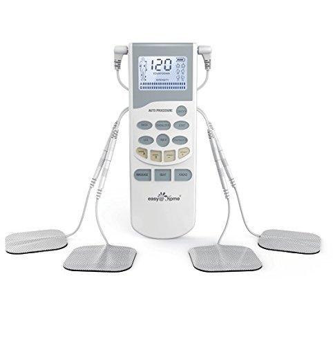 Easy@Home TENS EHE012PRO 专业级电子脉冲止痛按摩仪6.8折 87.8加元限量特卖并包邮!