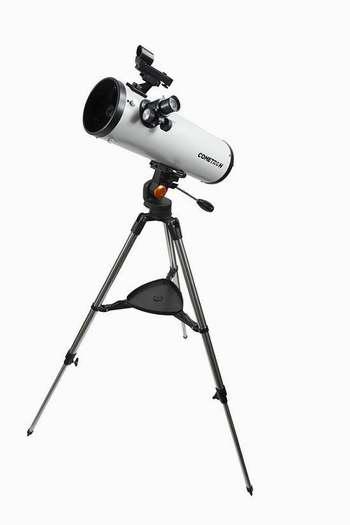 历史新低!Celestron 星特朗 Cometron 慧眼 114AZ 反射式天文望远镜3.2折 101.16加元限时清仓并包邮!