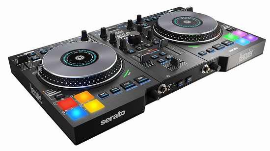 金盒头条:历史新低!Hercules DJControl Jogvision USB DJ打碟机/音乐控制器 249.99加元限时特卖并包邮!