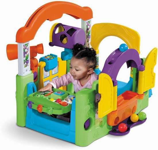 Little Tikes 小泰克 Activity Garden 多功能婴幼儿花园游戏中心6.8折 79.97加元包邮!