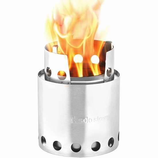 Solo Stove Lite 超轻高效柴火炉 84.99加元限量特卖并包邮!
