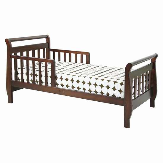 历史新低!DaVinci Sleigh Toddler 儿童床4.8折 81.09加元限时特卖并包邮!