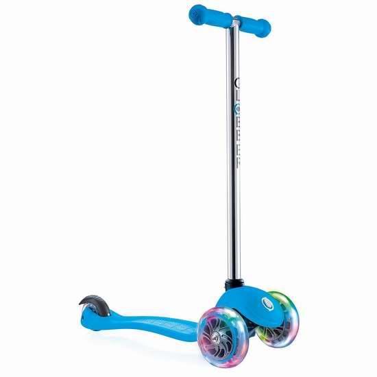 Globber 高乐宝 炫酷LED轮 3轮滑板车 44.99加元限量特卖并包邮!