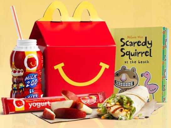 McDonald's 麦当劳 快乐儿童餐 送故事书了!