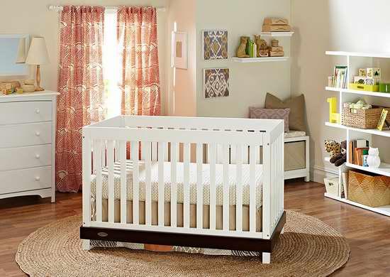 历史新低!Graco Maddox 三合一成长型婴儿床 199.99加元限时特卖并包邮!两色可选!
