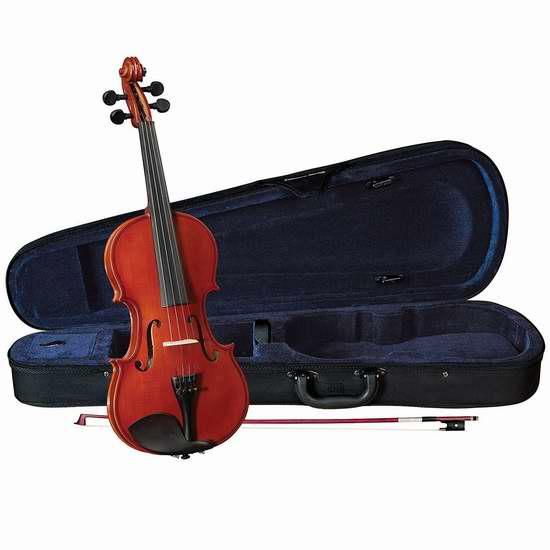 历史新低!Cervini HV-100 Novice 1/2 Size 儿童小提琴 69.51加元限时特卖并包邮!