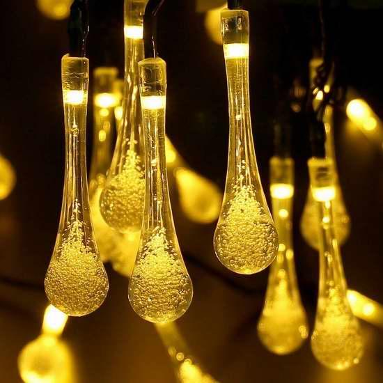 MagicLux Tech 30 LED 太阳能户外水晶球装饰灯 13.59-15.29加元限量特卖!3色可选!