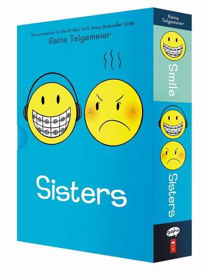 历史最低价!热销款儿童读物《Smile/Sisters 微笑的姐妹》盒装5.9折 14.24加元限时特卖!