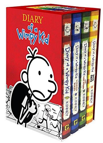 历史新低!《Diary of a Wimpy Kid 小屁孩日记》(1-4、5-8)礼盒装 40.39加元限时特卖并包邮!
