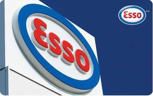 加油卡限时闪购!Esso 加油卡(面值100加元)仅售92加元包邮!