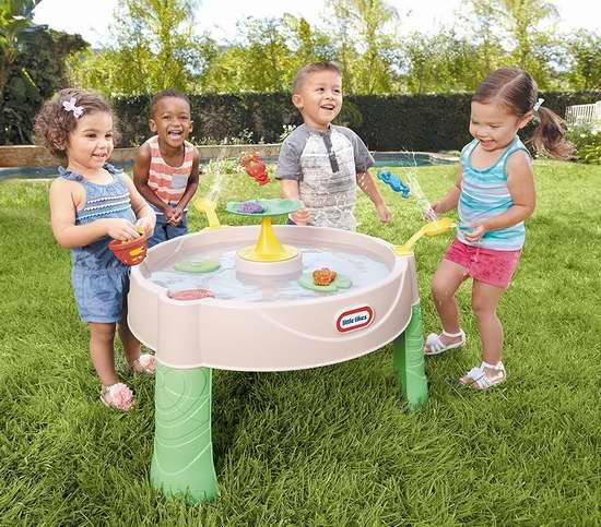 历史新低!Little Tikes 小泰克 青蛙池塘 儿童戏水桌 29.97加元限时特卖!