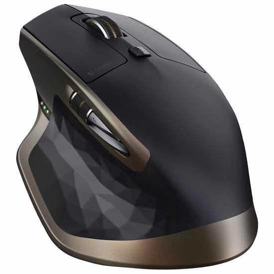 历史最低价!Logitech 罗技 MX Master 旗舰商用无线鼠标 79.99加元包邮!