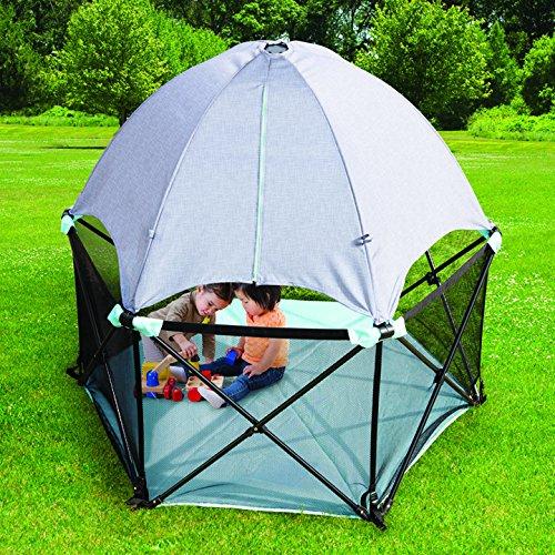 历史最低价!Summer Infant 27703 Pop 'N Play 豪华便携式婴儿室内/室外玩乐围栏6折 89.87加元包邮!
