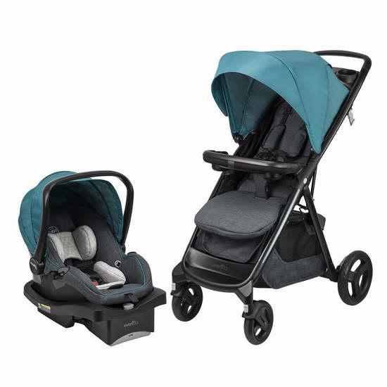 金盒头条:历史新低!Evenflo Lux24 婴儿推车+提篮安全座椅旅行套装 299.99加元限时特卖并包邮!