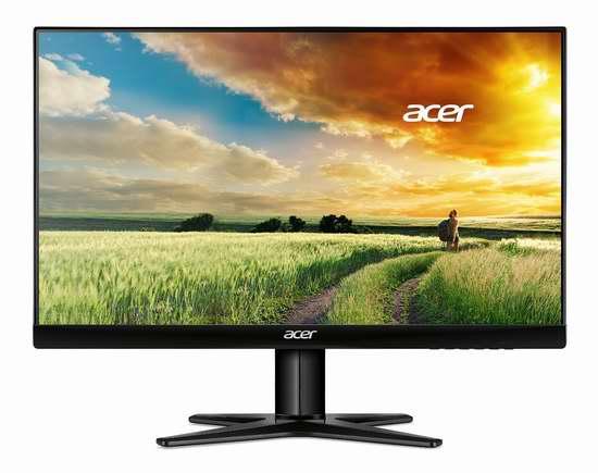 历史新低!Acer 宏基 UM.QG7AA.002 G247HYL 23.8英寸 IPS超窄边框 广视角LED液晶显示器 139.99加元限时特卖并包邮!