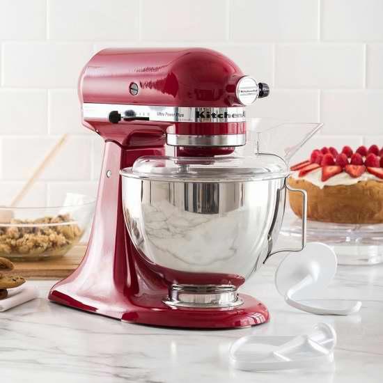 KitchenAid KSM100PS 多功能立式搅拌机\厨师机5.4折 269.99加元限时特卖并包邮!