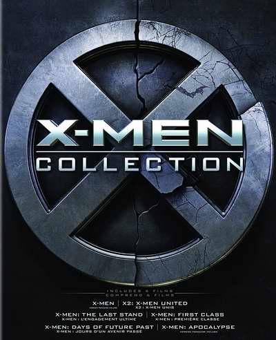 金盒头条:历史新低!《X-men Collection X战警》电影系列蓝光影碟(6碟)+数字版3.1折 24.99加元限时特卖!