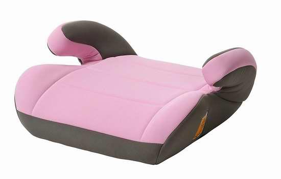 历史新低!Cosco High Rise Top Side 粉红色 儿童汽车安全座椅 12.47加元限时特卖!