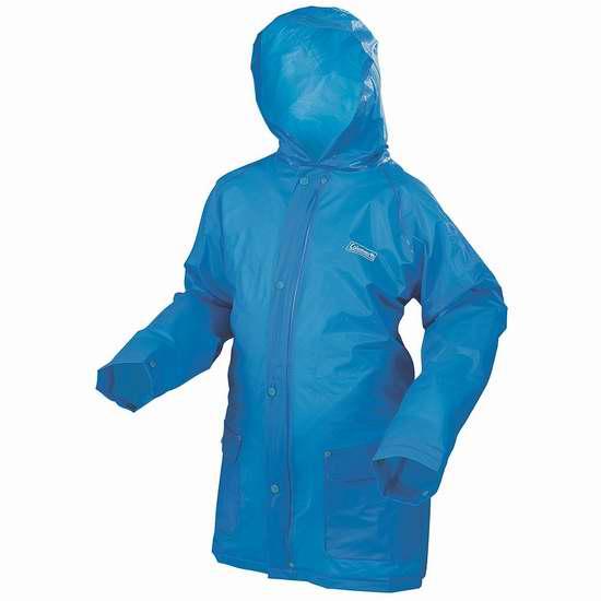 历史新低!Coleman 2000020500 S/M 通码 成人环保EVA防水雨衣3.6折 6.54加元限时清仓!