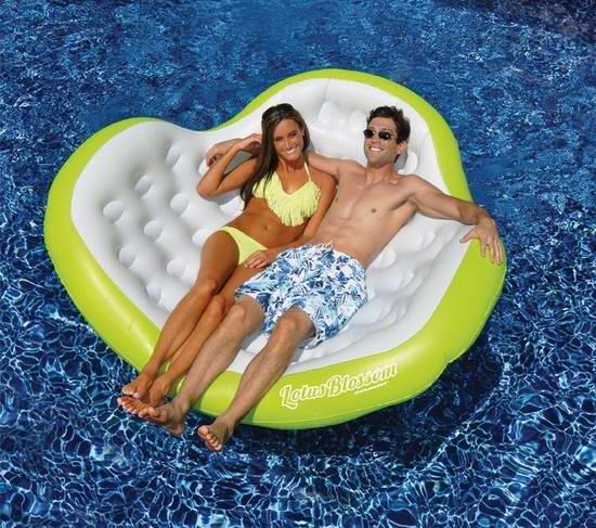 历史新低!Swimline 双人豪华水上沙发 72.81加元限时特卖并包邮!