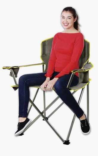 历史新低!Quik Chair 0.25吨超强负重 便携式折叠椅 31.78加元限时特卖!