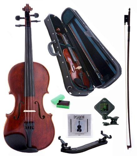 白菜价!历史新低!D'Luca PD01 Orchestral Series 4/4 中级小提琴套装1.3折 104.94加元限时清仓并包邮!