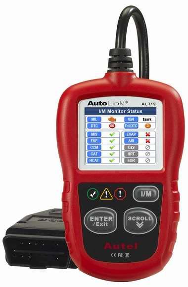 Autel AutoLink AL319 OBD II & CAN 汽车故障诊断仪 39.76加元限量特卖并包邮!